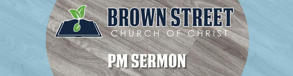 BSCOC PM Sermon